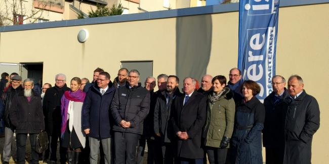 Lancement commercialisation NRO Heyrieux